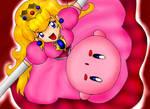 Cute Peach n' Kirby