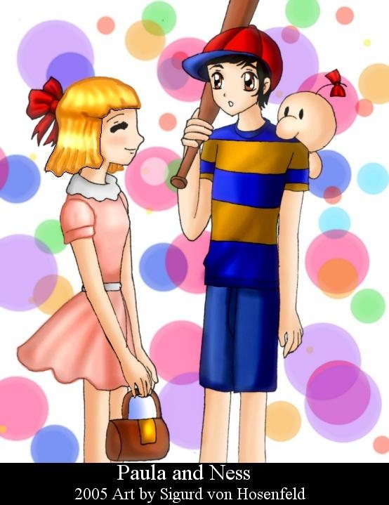 Paula and Ness by SigurdHosenfeld