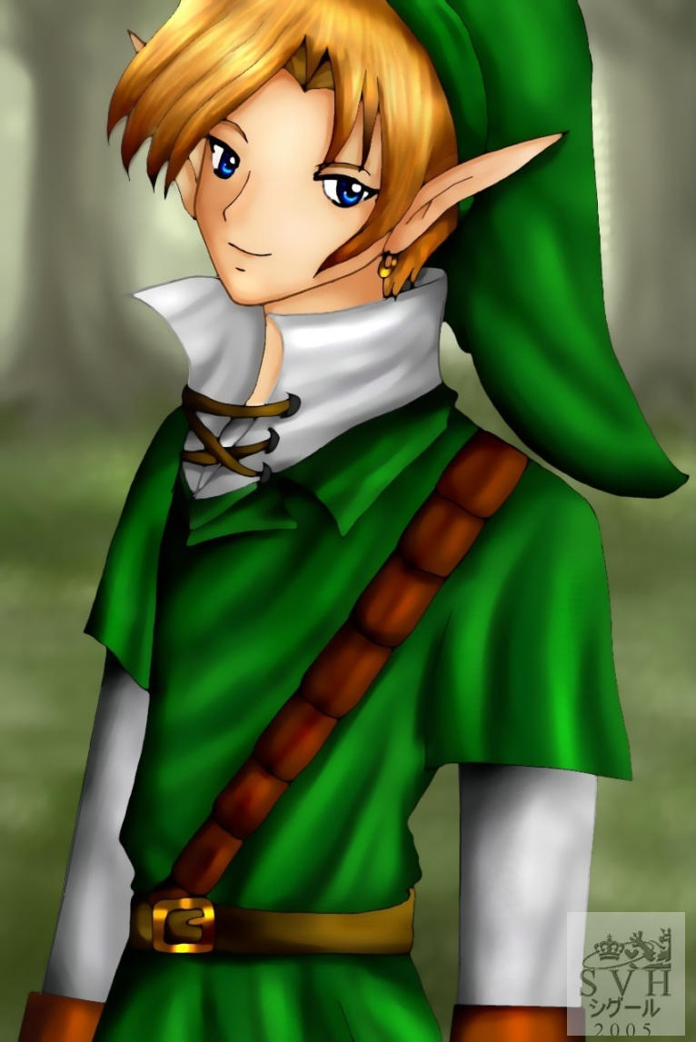 Link, the Hero of Time by SigurdHosenfeld