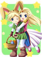 Easter 2006: Zelda by SigurdHosenfeld