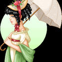 Emmaline's Parasol by dilli-dalli