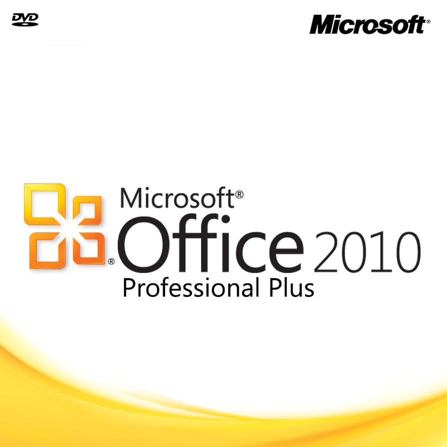 microsoft office 2010 pro cd jewel case cover by hubbak on