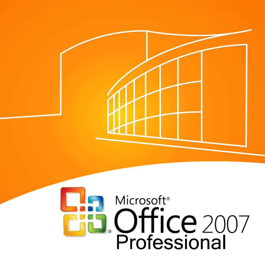 Microsoft Office 2007 Pro CD Jewel Case Cover By Hubbak On