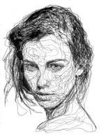 Female portrait by kristrappeniers