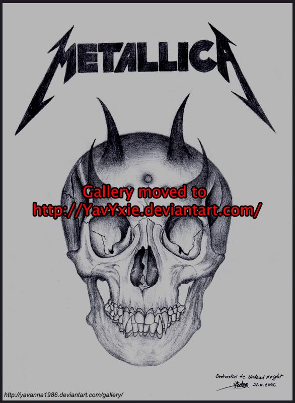 metallica drawings