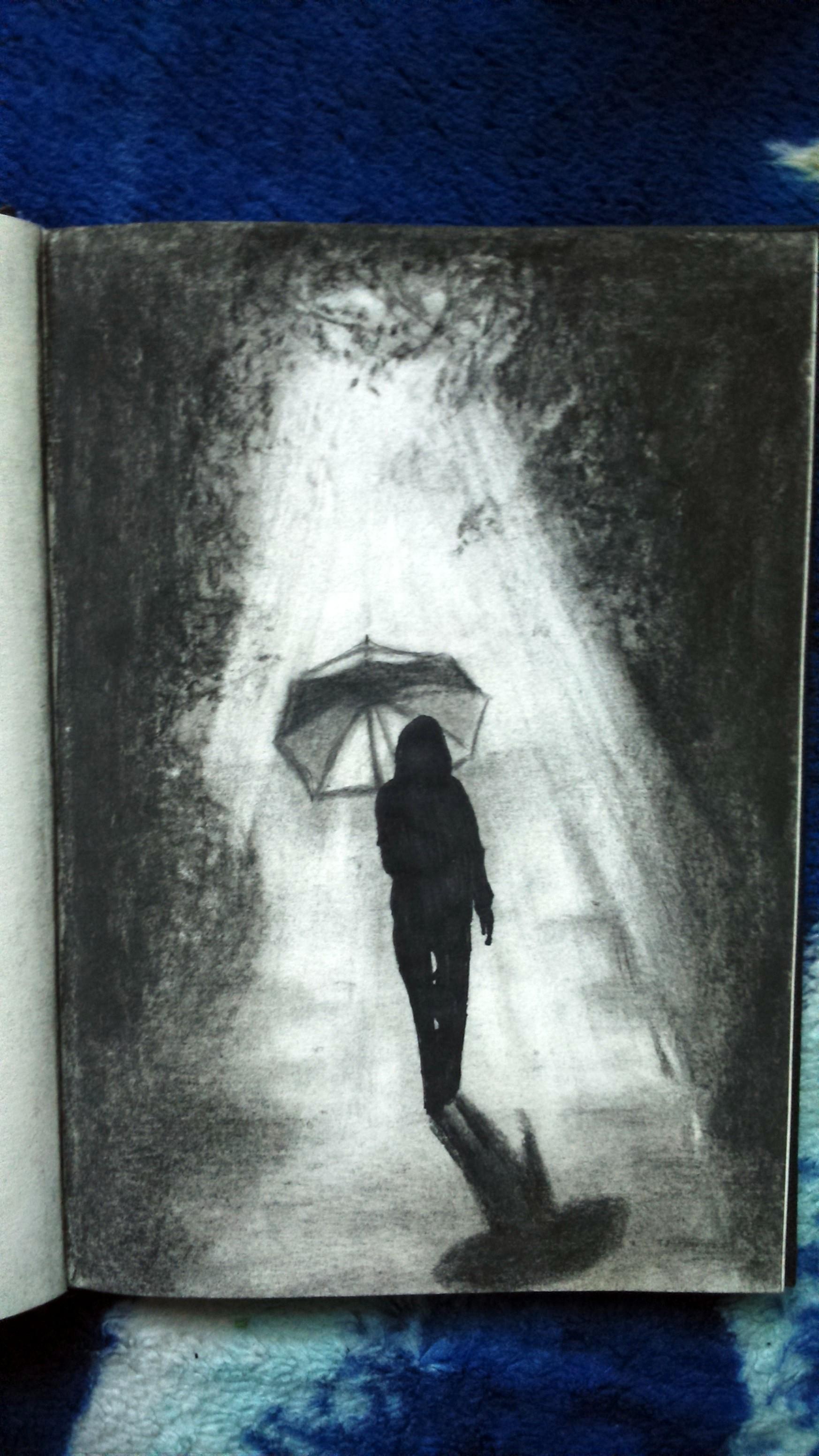 sketchbook - a walk through herself by Tsenov