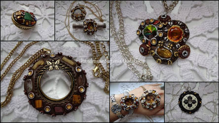 pendant and ring by MrsEfi