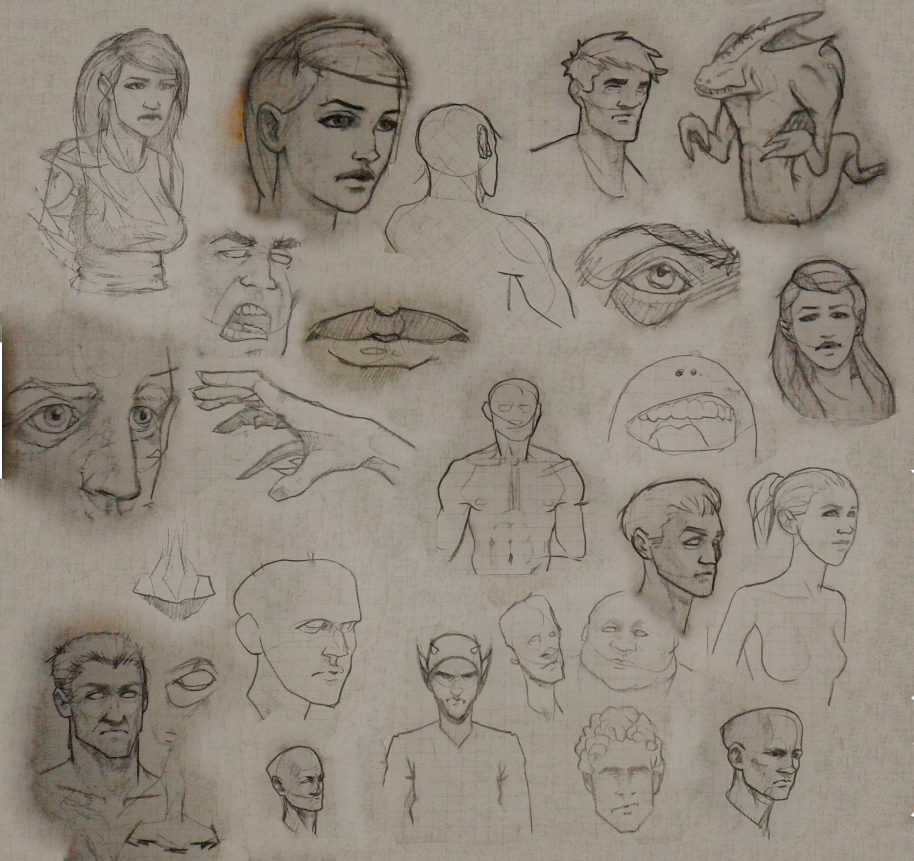 Sketchbook Samples by BrightBit