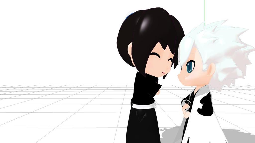 Momo and toshiro by MomoHinamoru
