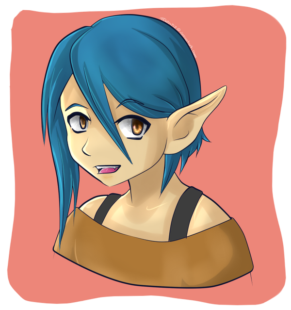 Elf Headshot by Takeo212