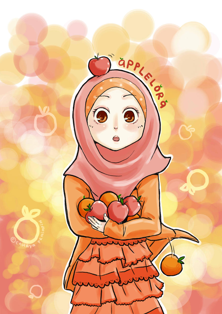 Kumpulan Gambar Kartun Muslimah Cantik Berjilbab Kantor Meme