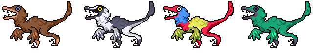 Raptors by SuperRetro8it
