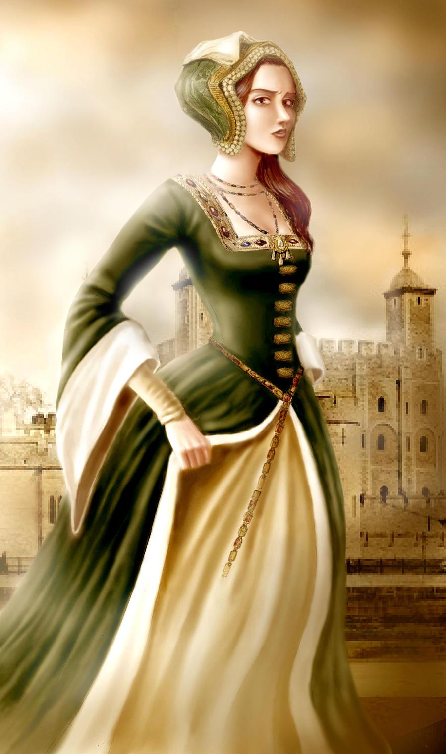 Anne Boleyn by BlackAppleStudio