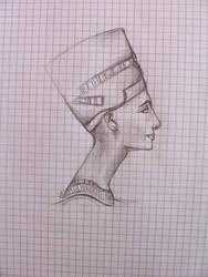 Nefertiti sketch 2010