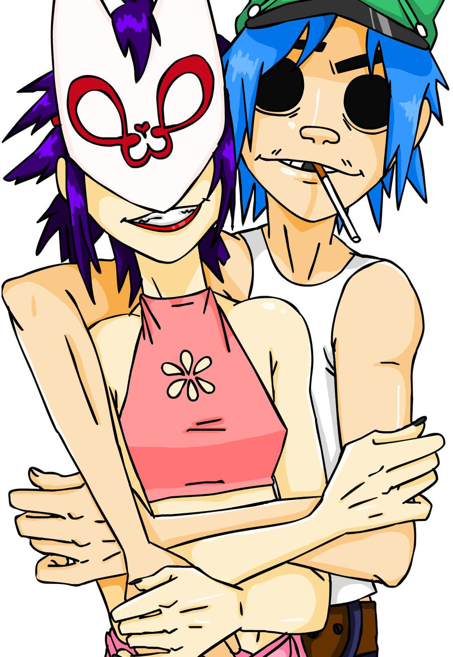 murdoc and noodle dating When everyome goes out for the night, murdoc and noodle (in a very close relationship) share some quality time together in kong studios language: english words: 500.