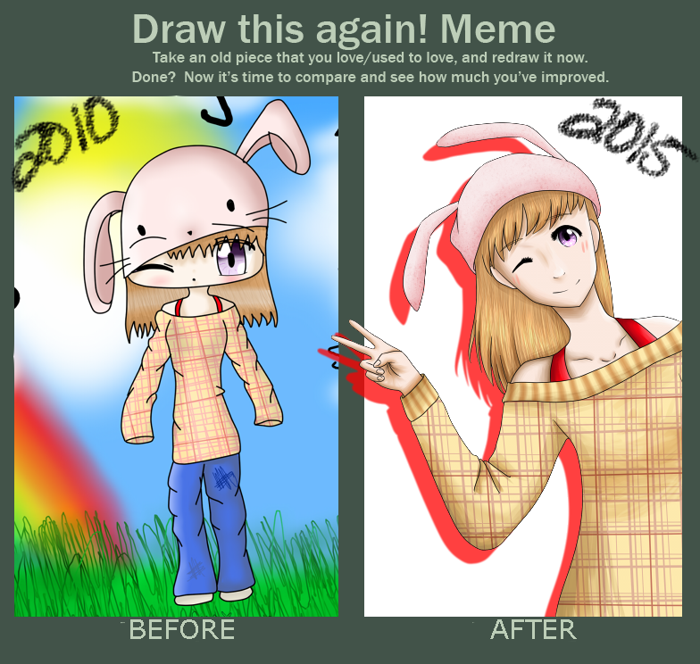 Draw This Again Meme by CrystalTheTaco