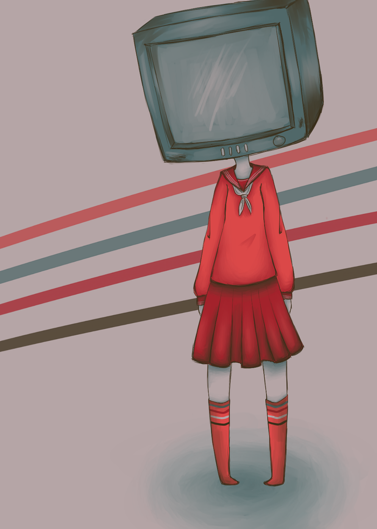TV Head by CrystalTheTaco