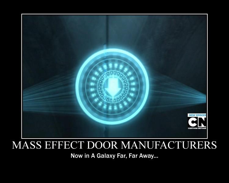 Mass Effect - Star Wars Door Problem by Tajtusek