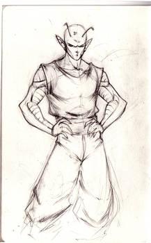 Piccolo Sketch