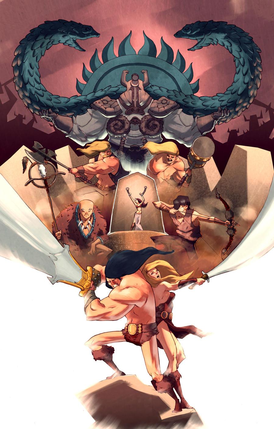 Conan Poster.