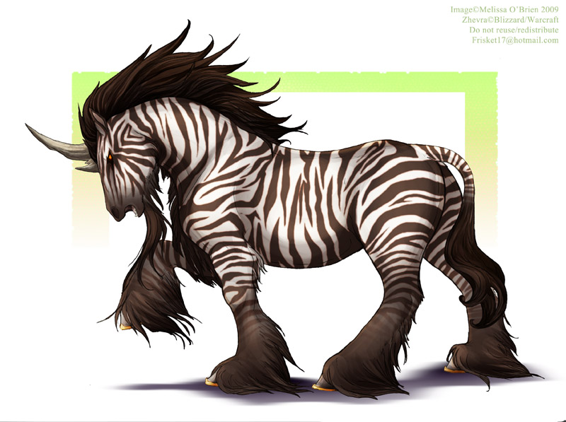 Warcraft : Zhevra Mount by frisket17