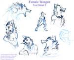 Worgen Female - Airesy Test 2