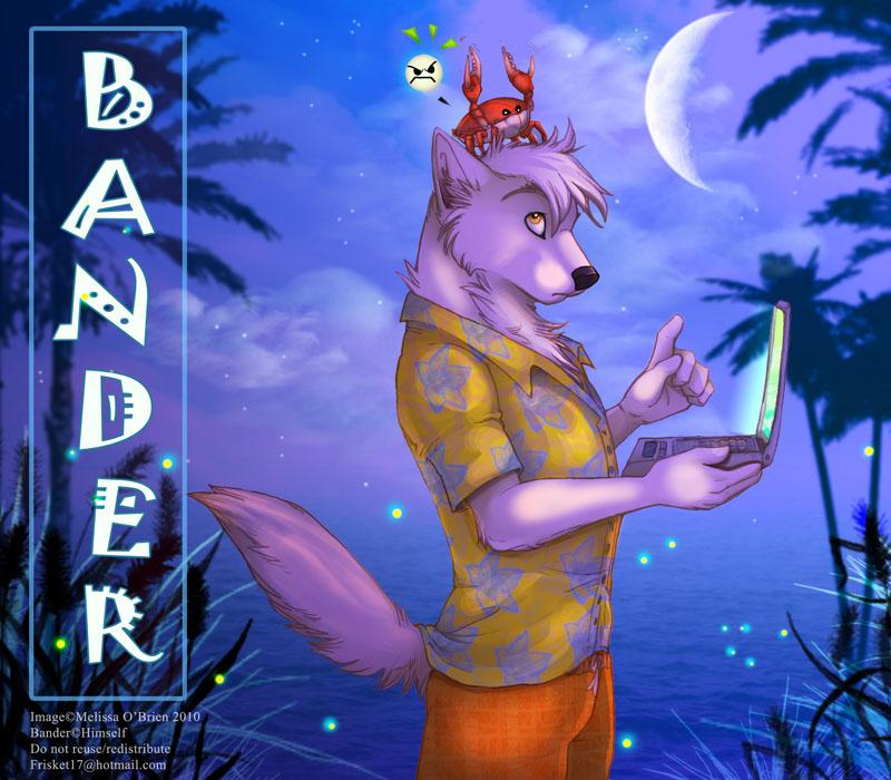 Tropical Badge - Bander by frisket17