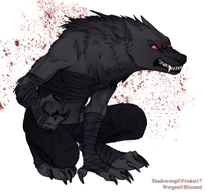 Worgen F Rogue: Shadowstep 1 By Frisket17 On DeviantArt