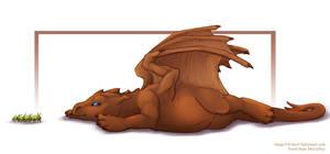 Pern: Brown Hatchling Sorvoth