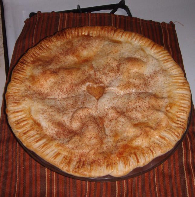 Kitchen Antics: Peach Pie 11-1 By Frisket17 On DeviantArt