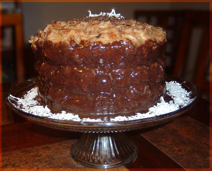German Chocolate Birthday Cake By Frisket17 On Deviantart