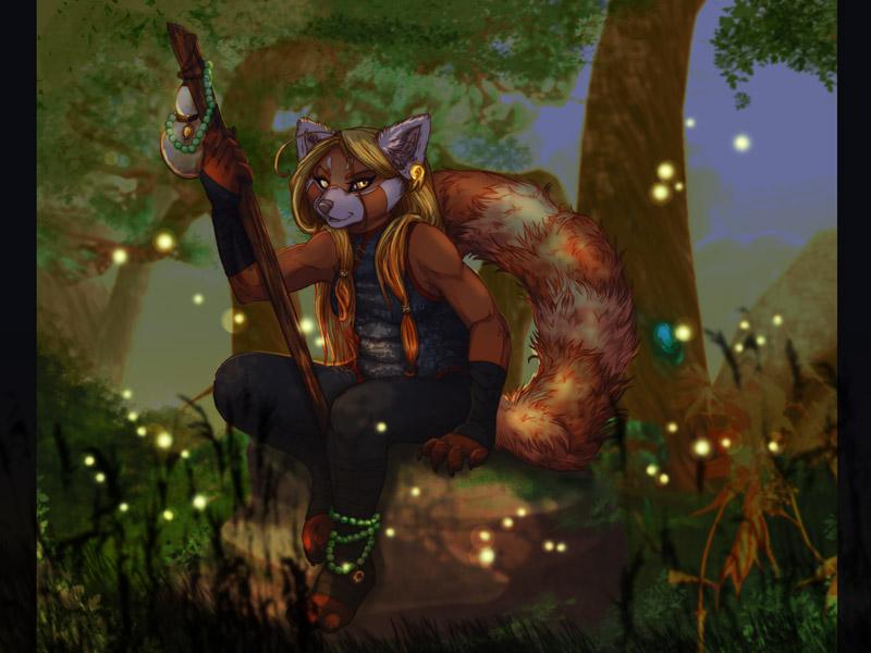 Topaz Night - Pandaren by frisket17