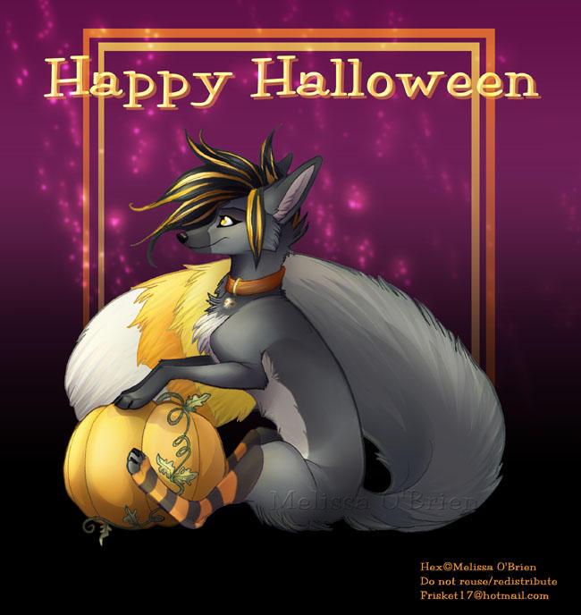 Happy Halloween Hex 06 by frisket17