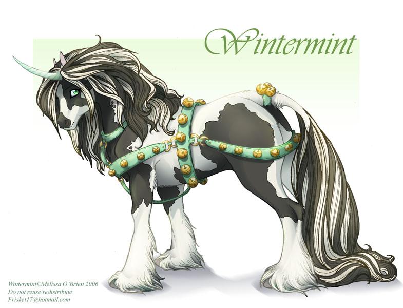 Irish cob dans Licorne Wintermint___Demo_by_frisket17