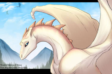 Pern Gold Dragon - Wraith by frisket17