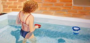 Girl in pool II