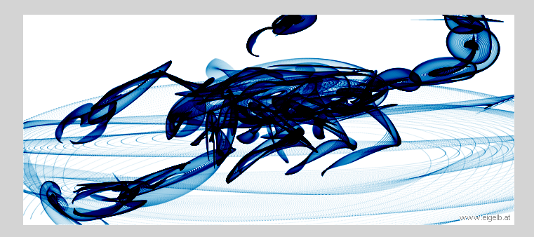 Blue Scorpion By Mspaintowns
