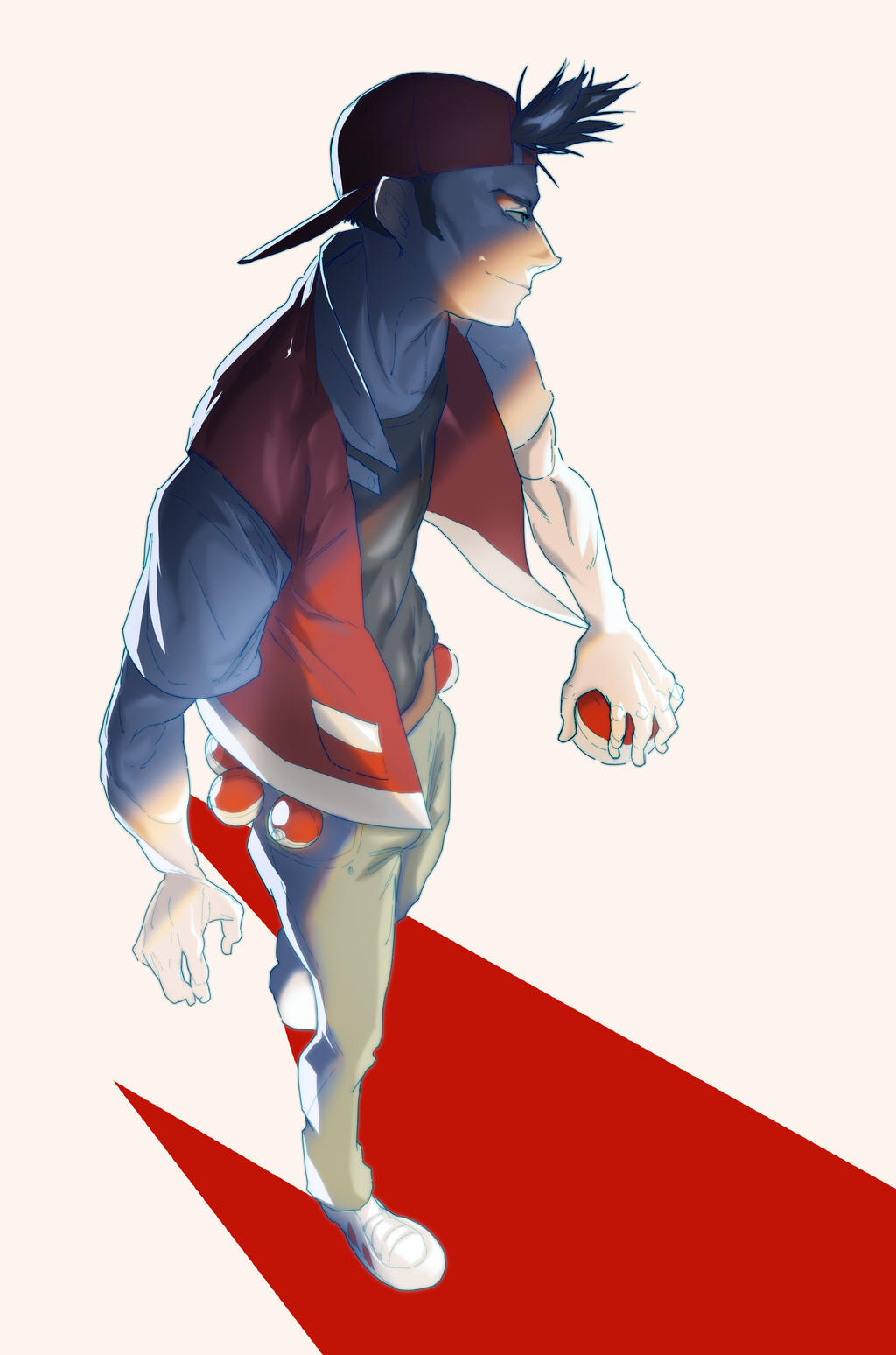sext pokemon trainer red fanart by alisdaiross on deviantart