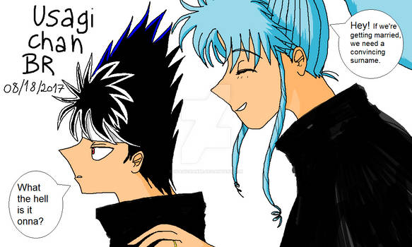 YYH - They are engaged now.