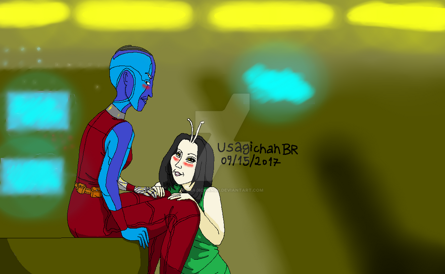 GOTG - Hey Nebula! by UsagichanBR on DeviantArt