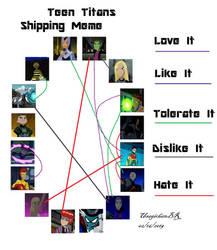 Teen Titans shipping meme by UsagichanBR