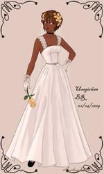 Wedding-Dress- Rocket female by UsagichanBR