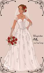 Wedding-Dress-Groot (Female) by UsagichanBR