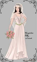 Wedding-Dress-Mantis by UsagichanBR