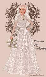 Wedding-Dress - Disney's Maid Marian (HUMAN). by UsagichanBR