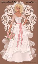 Wedding-Dress - Patti Mayonnaise. by UsagichanBR