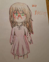 Creepypasta Sally  by Wind-Master13