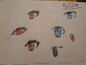 more anime eyes by Wind-Master13