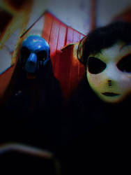 Eyeless Jack and Jane the killer Cosplay by Wind-Master13