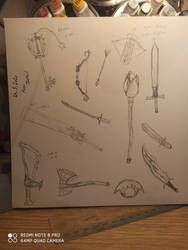 Weapons quick sketch